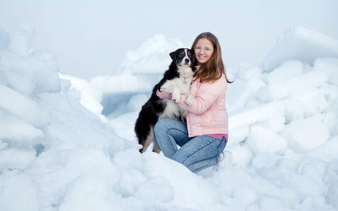 Стеффи, я и ледники